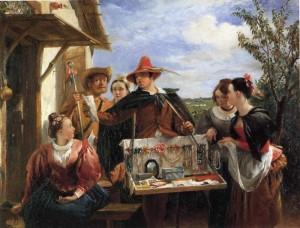 Charles Robert Leslie  le colporteur de bijoux