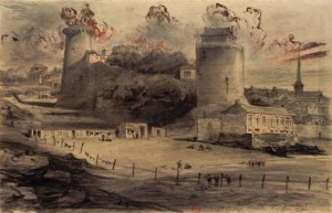 Pornic.  Le Vieux Château. Léon Gaucherel