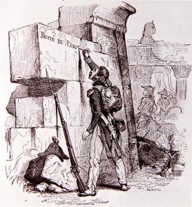 L'expédition scientifique dans Desaix,  l'expédition d'Egypte HoraceVernetlaurentdelardèche-278x300