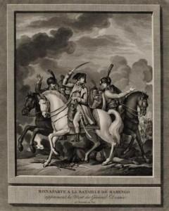 Desaix frappé à mort s'effondre. dans Desaix,  bataille de Marengo Desaixnapo-240x300