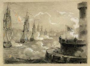 Prise de Malte. juin 1798