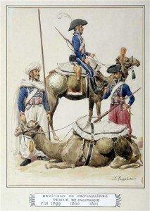 Egypte, les Soldats Dromadaires. dans Desaix. les Soldats Dromadaires. Rdro2-213x300
