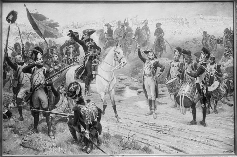 Première rencontre avec Bonaparte. dans Desaix,  l'armée du Rhin annoncedelarrivededesaix