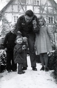 Kurt Reuber et enfants