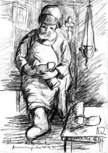 Kurt Reuber- Schuster Kowolenko (1941)