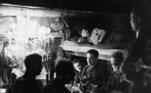 Noël des troupes allemande au front Russe, 1942