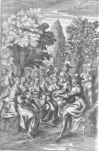 une assemblée de bergers et de bergères1633_2-4